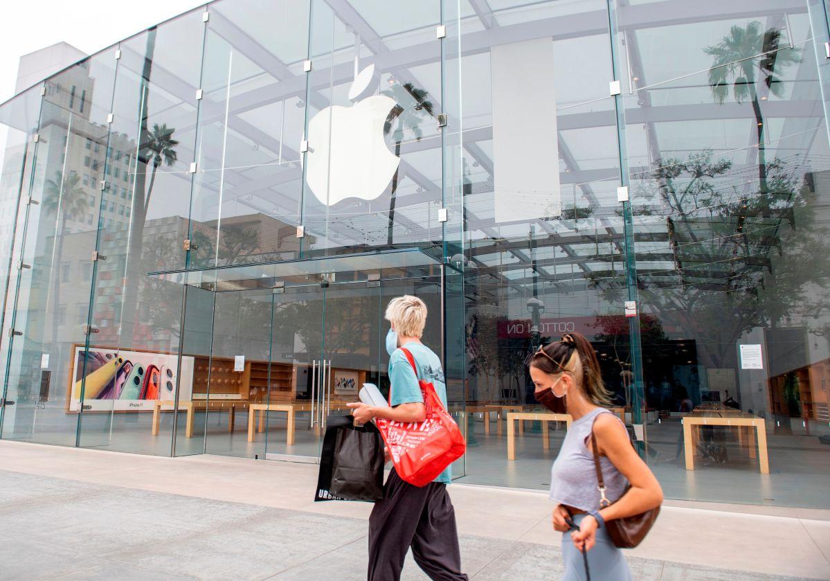 Apple cerrará de manera temporal todas las tiendas de California debido al aumento de casos de COVID-19
