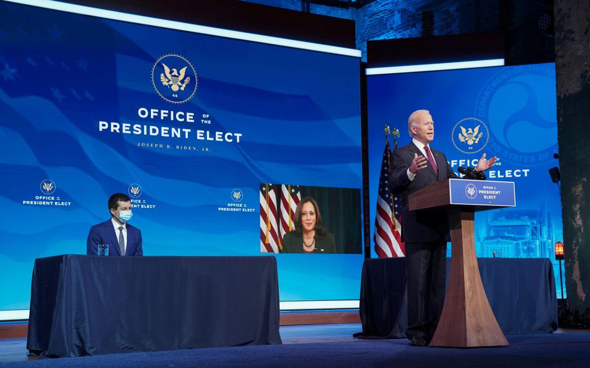 El presidente electo Joe Biden hizo oficial la nominación de Pete Buttigieg.