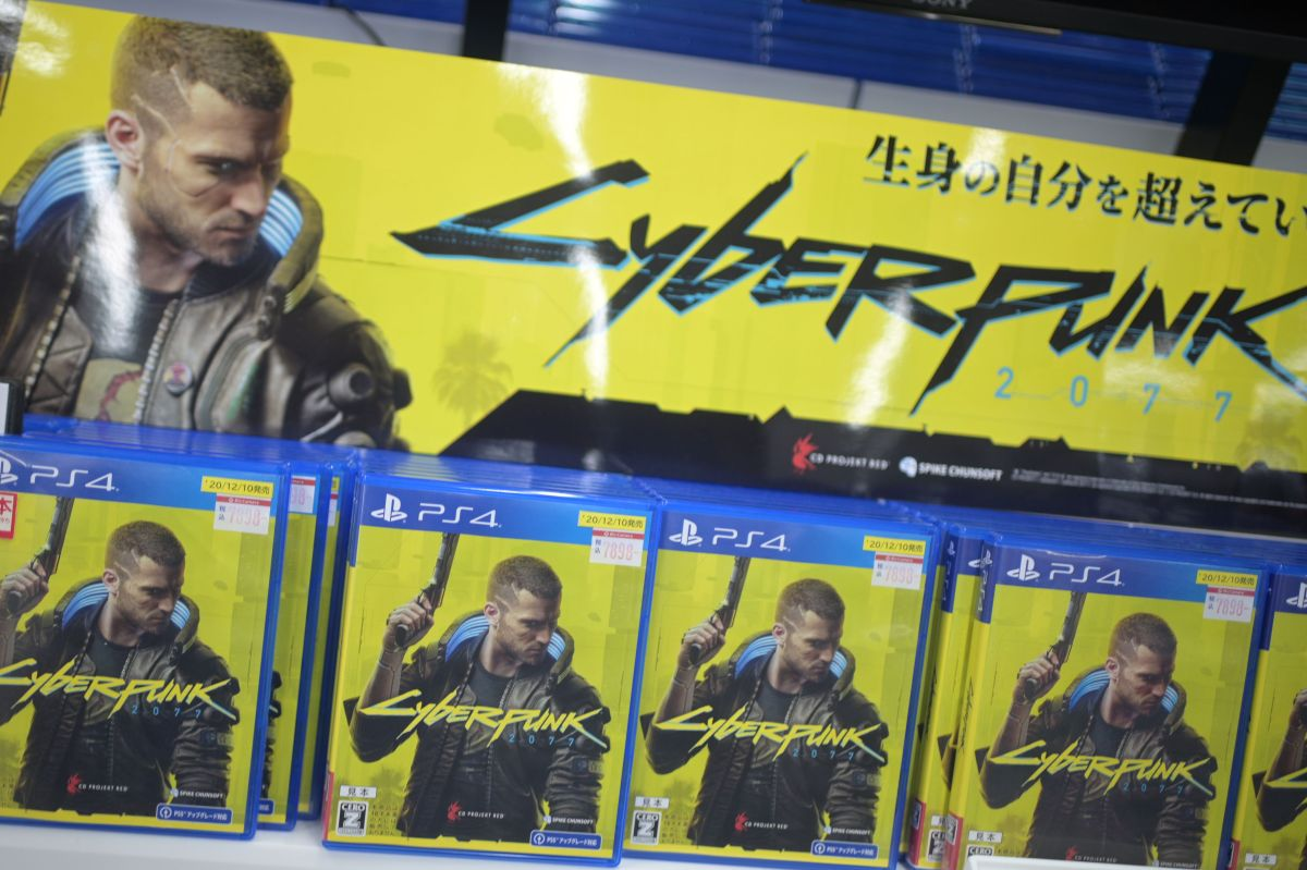 Why is Sony removing the Cyberpunk 2077 video game from the PlayStation Store?