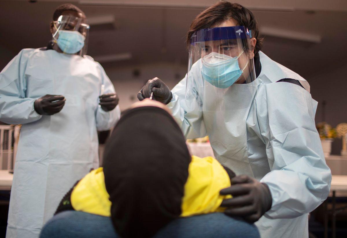 """Ya son cuatro estados con casos del coronavirus """"mutante""""."""
