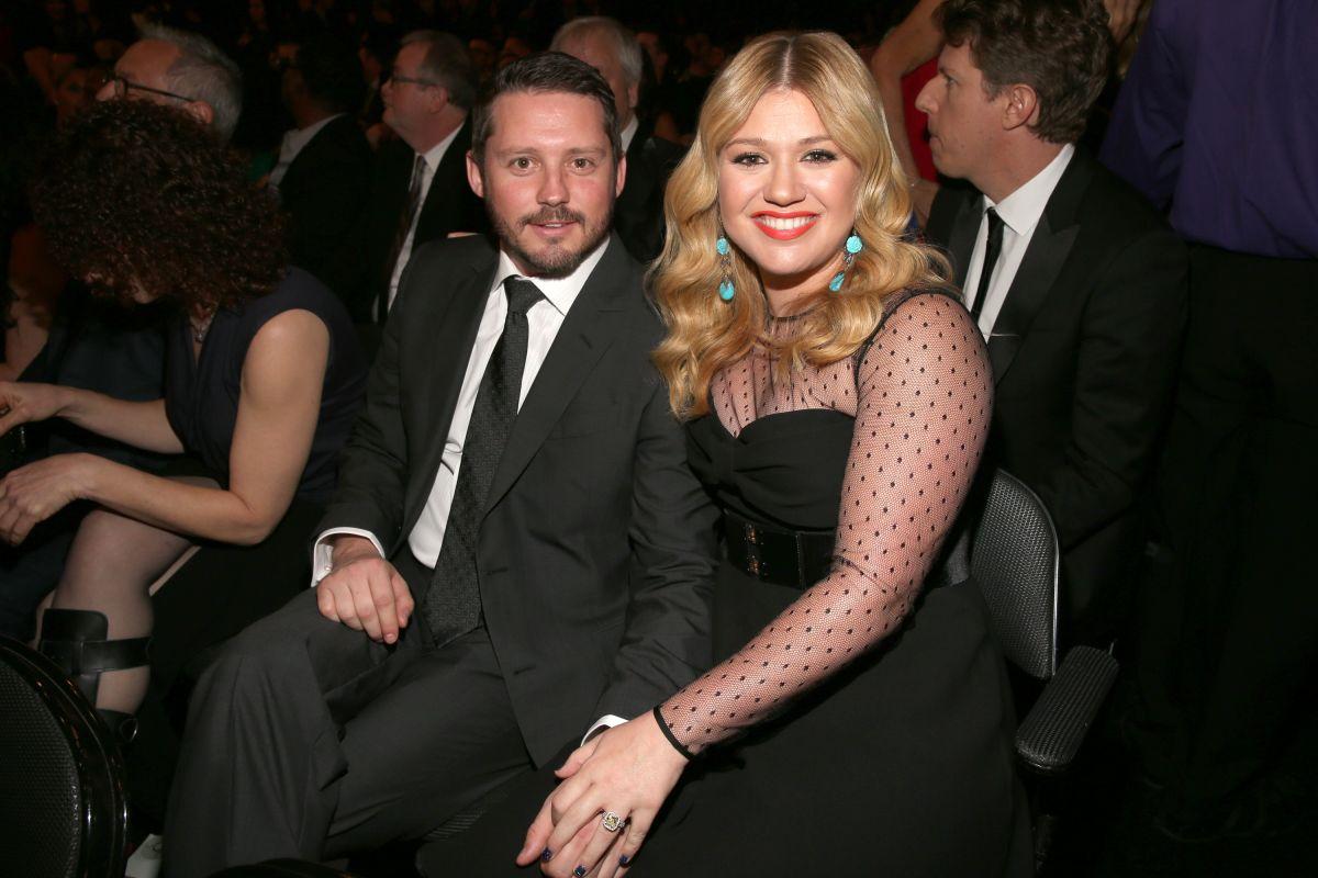 Kelly Clarkson y su exesposo, Brandon Blackstock.