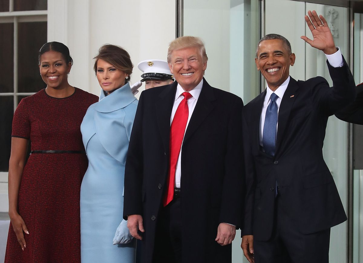 Trump vence por fin a Obama, pero Michelle triunfa ante Melania