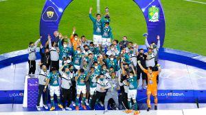 León doblega a Pumas y se corona en la liga mexicana
