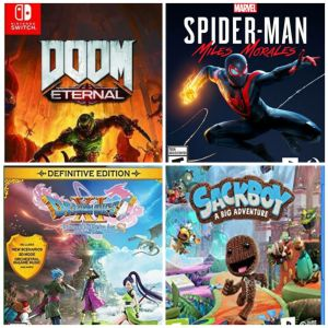 Reseña: Marvel's Spider-Man: Miles Morales, Doom Eternal, Sackboy: A Big Adventure, Dragon Quest XI S y Fitness Boxing 2: Rhythm & Exercise