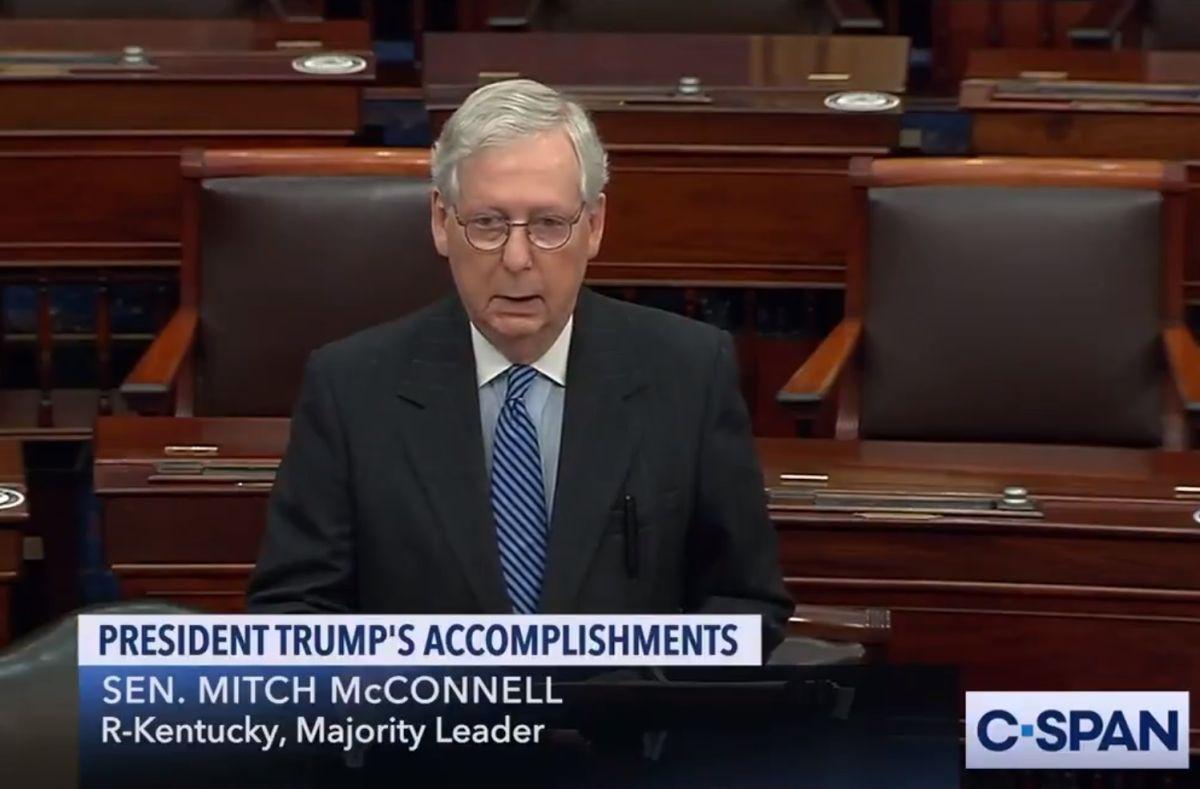 Trump pierde importante aliado: Mitch McConnell reconoce el triunfo de Joe Biden