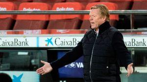 Koeman tira la toalla y reconoce que es muy complicado que el Barcelona gane La Liga