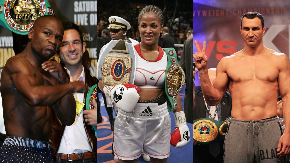 Mucho Elección Lidiar con  Mayweather, Laila Ali and Klitschko to enter the Boxing Hall of Fame -  Digis Mak