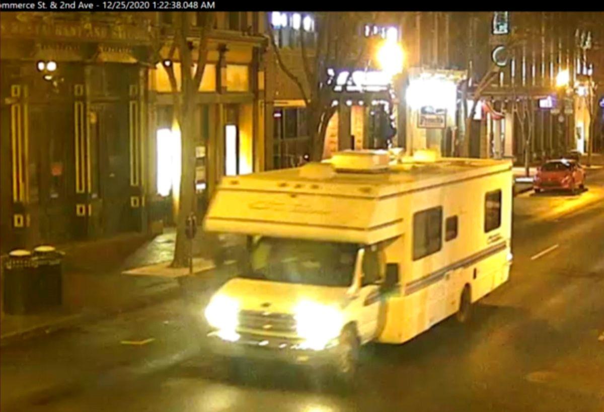 Nashville police release photo of vehicle linked to blast