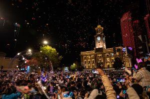 La celebración de Año Nuevo en Wuhan, la ciudad donde empezó la pandemia del coronavirus