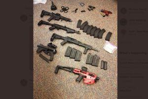 Camión fue atrapado con gran cargamento de armas en Nueva York