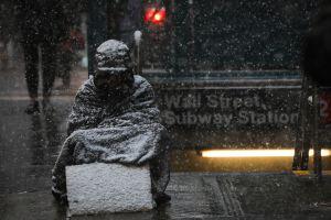 Día del Amor sin nieve, pero una tormenta impacta a 10 estados y se aproxima a Nueva York