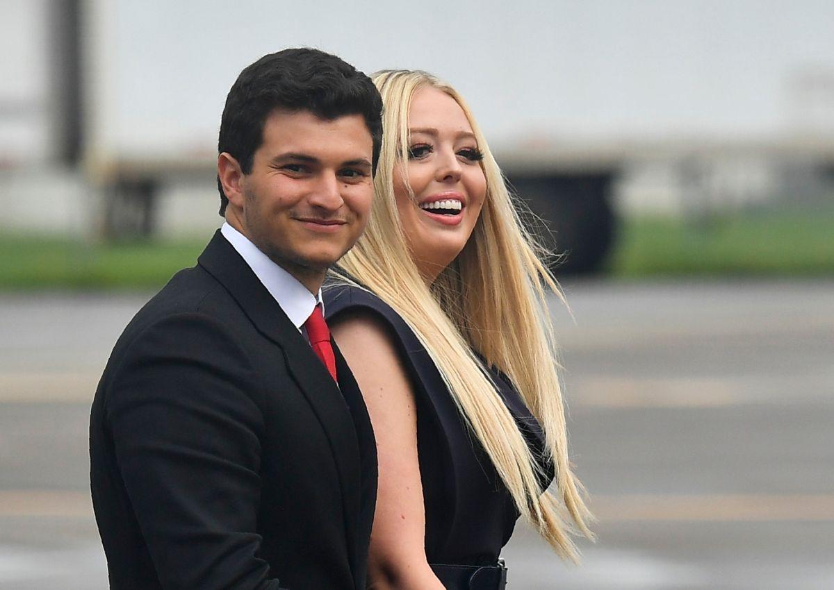 Tiffany Trump recibe anillo de compromiso del multimillonario Michael Boulos