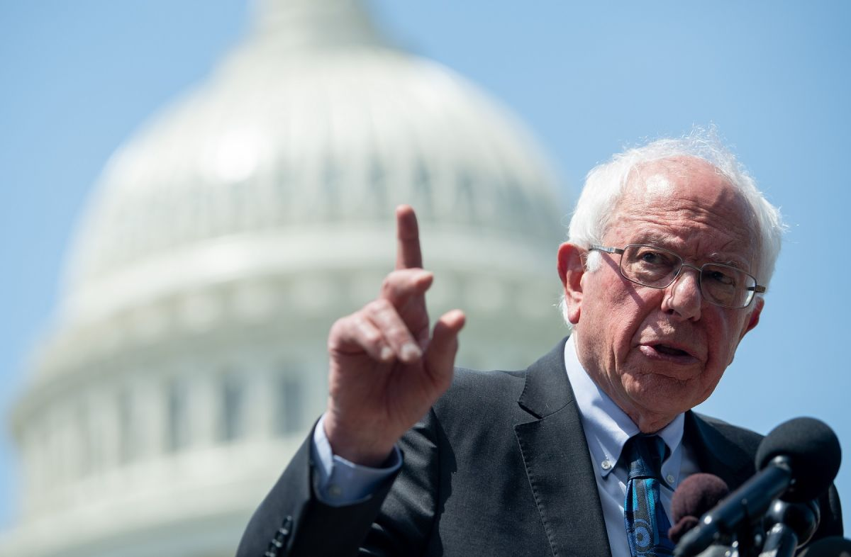 Bernie Sanders explica cómo los demócratas podrían aprobar tercer cheque de estímulo sin republicanos