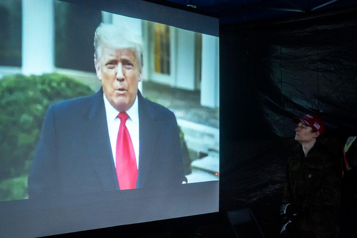 Trump reconoce a la nueva administración y asegura enfocarse en la transición de poder