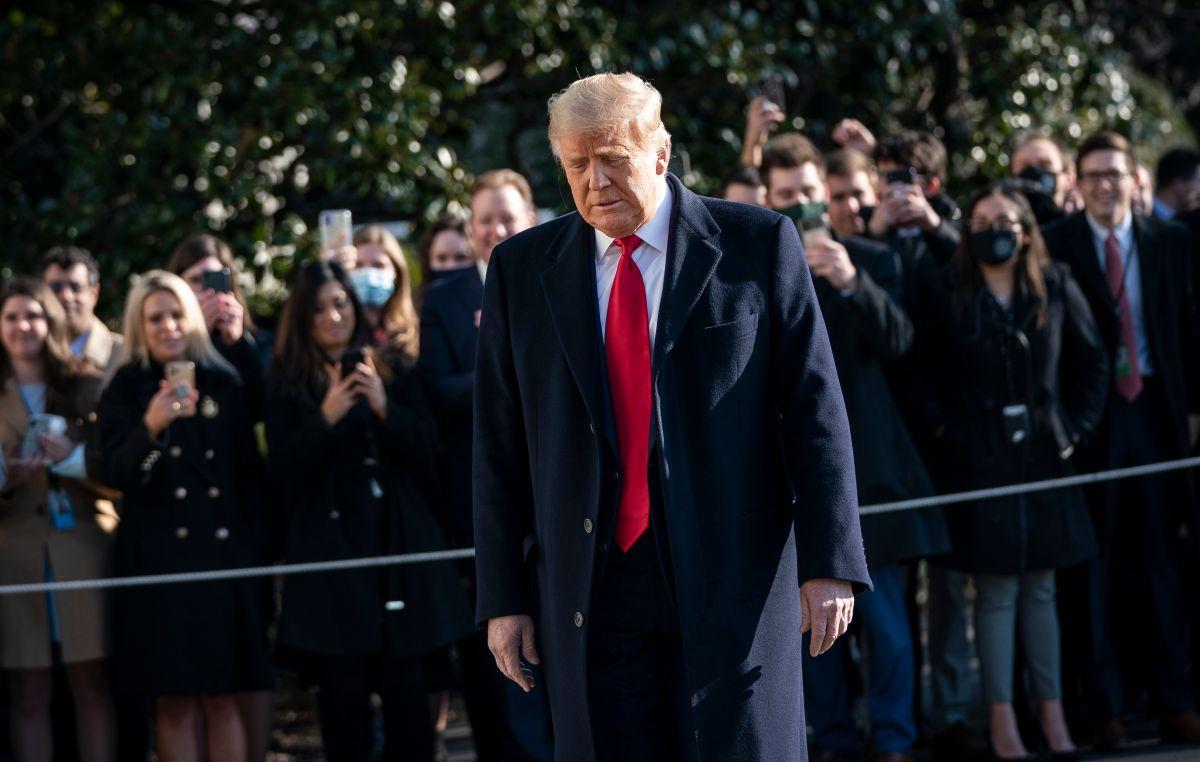 ¿Trump enfrentará juicio en el Senado después de dejar la presidencia?