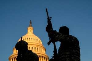 Desata alerta incendio cerca del Capitolio a pocos días de la toma de posesión de Biden