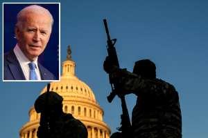 Preocupan posibles ataques a Joe Biden; retiran a dos militares sospechosos de la Guardia Nacional
