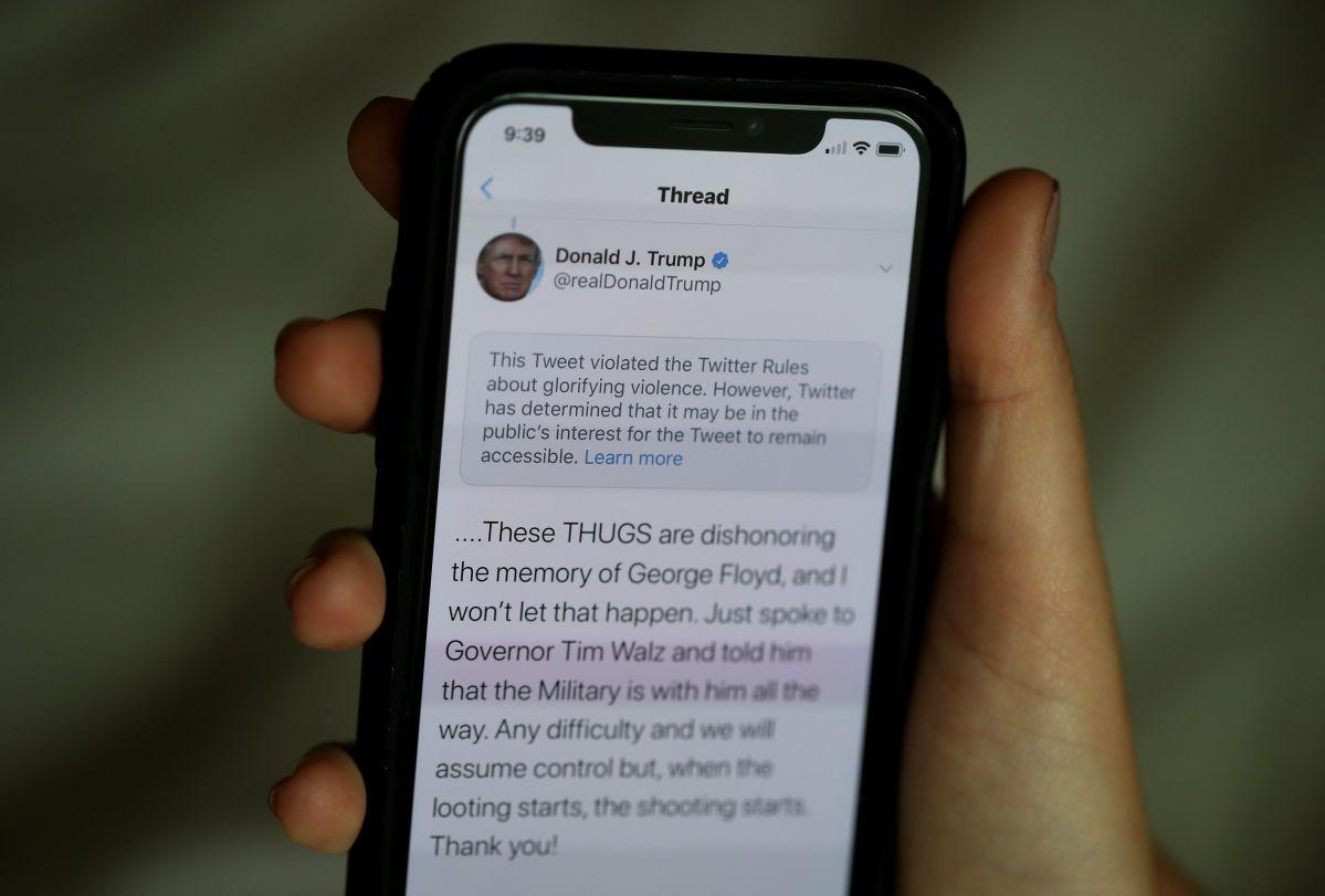 ¿Por qué Facebook y Twitter bloquearon las cuentas de Donald Trump?