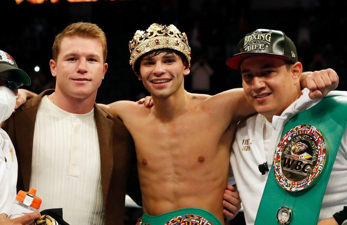 """Regañados: Eddy Reynoso explica por qué les llamó la atención a """"Canelo"""" Álvarez y a Ryan García durante sus últimas peleas"""