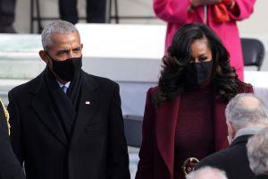 Michelle Obama triunfa con su atuendo en la toma de posesión de Joe Biden
