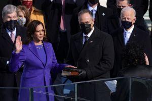 Kamala Harris hace historia al convertirse en primera mujer vicepresidenta de EE.UU. de la mano de jueza puertorriquña Sonia Sotomayor