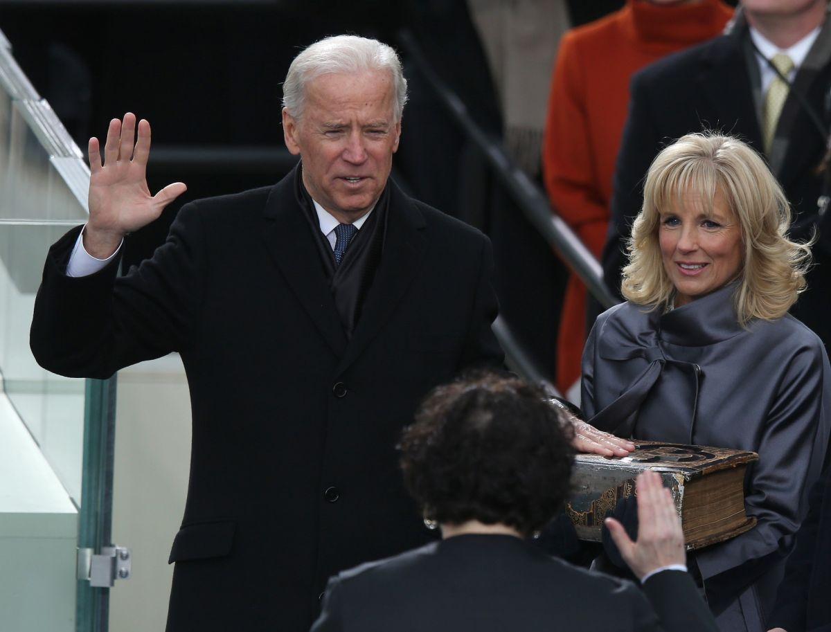 Sigue EN VIVO la ceremonia de inauguración de Joe Biden