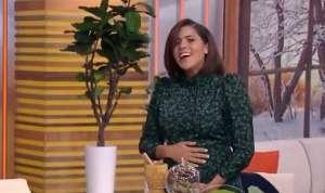 Francisca Lachapel luce feliz su embarazo
