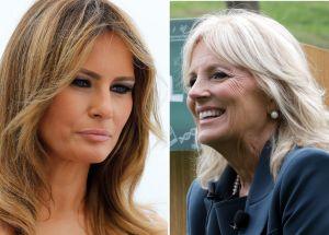 Melania Trump rompe con Jill Biden una tradición de las primeras damas