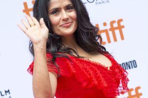 Salma Hayek anuncia que tendrá estrella en el Paseo de la Fama de Hollywood
