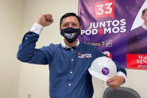 Walther Sinche busca representar a inmigrantes ecuatorianos en la Asamblea Nacional
