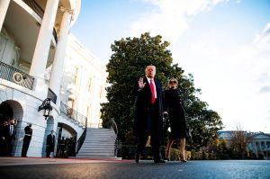 Los protocolos de transición que se saltó Donald Trump al abandonar la Casa Blanca ante toma de posesión de su sucesor Joe Biden