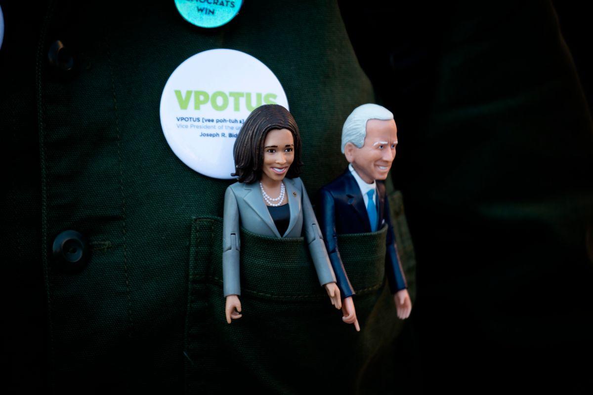 Los primeros mensajes en Twitter de Joe Biden y Kamala Harris en sus cuentas oficiales como presidente y vicepresidenta de EE.UU.