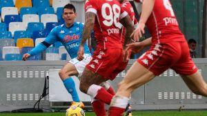 """Más endiablado que nunca: el """"Chucky"""" Lozano volvió a ser la pieza clave en la goleada del Napoli"""