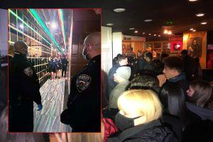 Alguaciles de Nueva York descubren tres fiestas clandestinas de fin de año
