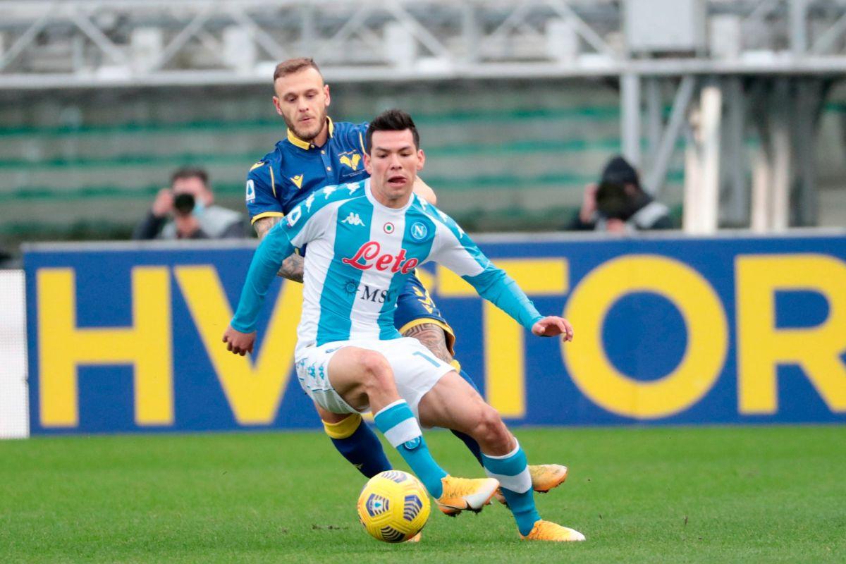 """VIDEO: Rápido y Diabólico, """"Chucky"""" Lozano anotó el gol más rápido en la historia de Napoli en la Serie A"""