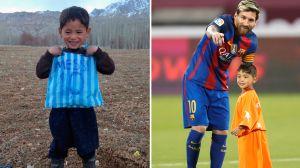 El Pequeño Messi: La vida del niño afgano que se convirtió en un infierno después de conocer a su ídolo