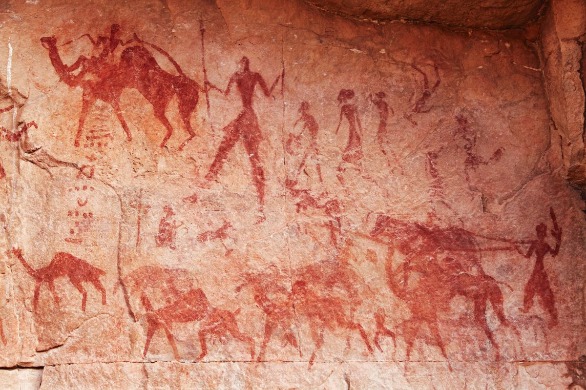 Encuentran la pintura rupestre de un animal más antigua del mundo