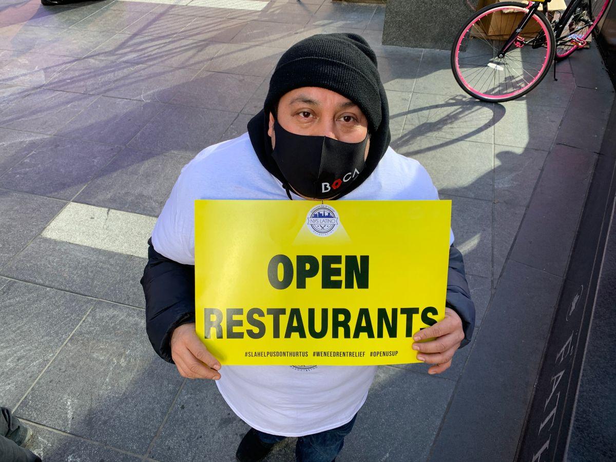 Restaurantes en la Ciudad de Nueva York abrirán servicio interior desde el viernes 12 de febrer