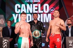 """Canelo"" Álvarez vs. Avni Yildirim: ¿Cómo les fue en la ceremonia de pesaje?"