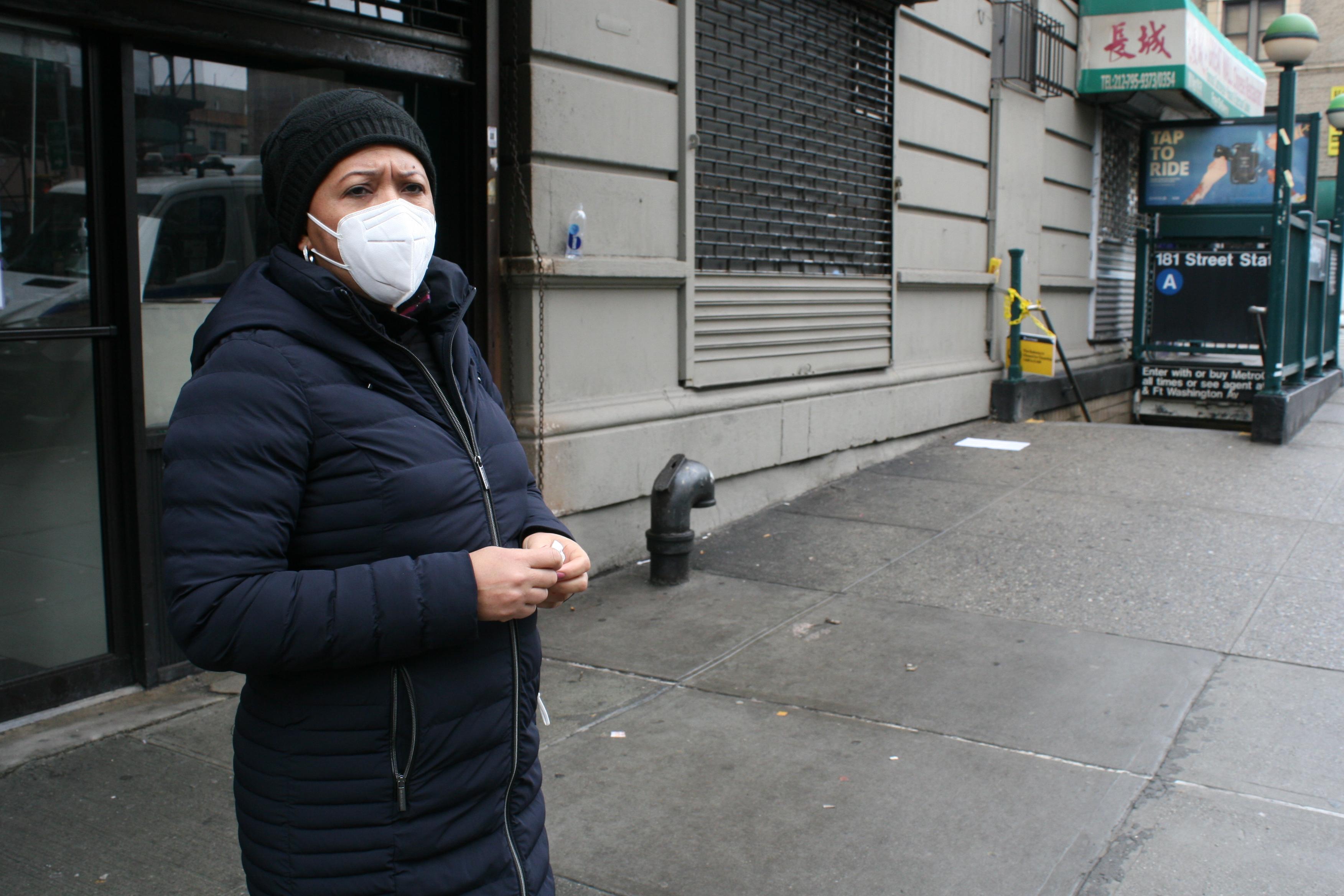 Albertina Natera Residentes de WH testigo de muchas agresiones en el Subway