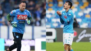 """Ospina y """"Chucky"""" lesionados: El Napoli confirmó la baja de los latinos"""