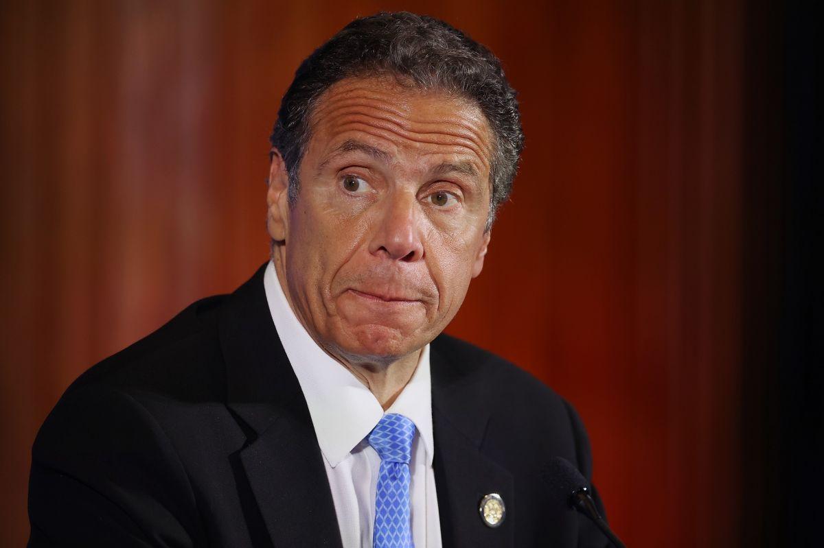 El gobernador Andrew Cuomo fue acusado por varias mujeres de acoso sexual.