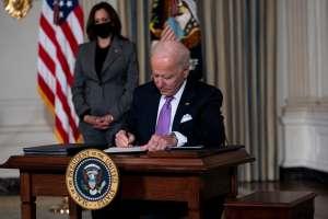 14 de marzo sigue siendo fecha clave para que Biden firme paquete económico y se empiecen a liberar cheques de estímulo de $1,400