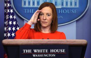 """""""Biden va a hacer lo que quiere porque es el presidente"""" y la frontera importa menos que la pandemia y economía: vocera de la Casa Blanca"""