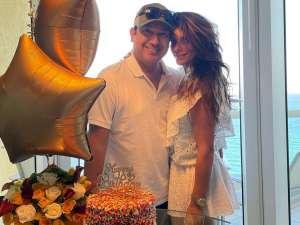 Bárbara Bermudo celebró la vida de su esposo después de haber salido del hospital