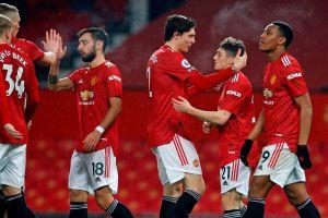Se les apareció el Diablo: Manchester United aplasta 9-0 al Southampton e iguala al líder en la Premier