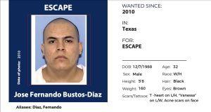 Añaden a hombre que escapó de prisión en 2010 a lista de los 15 más buscados en Estados Unidos