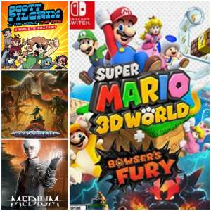 Reseña: Super Mario 3D World + Bowser's Fury, The Medium, Gods Will Fall y Scott Pilgrim vs. The World: The Game – Edición Completa