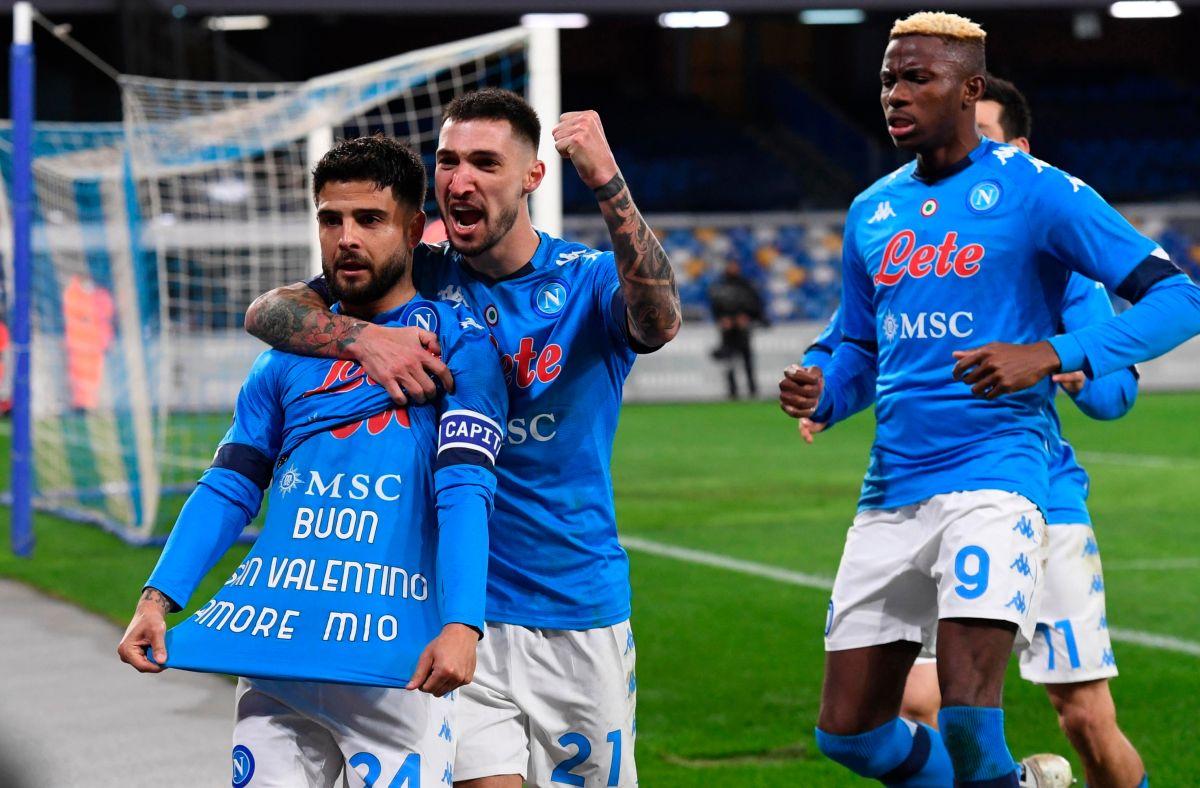 El Napoli cobra revancha contra Cristano Ronaldo y la Juventus
