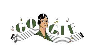 Google celebra con Doodle a la cantante y compositora mexicana María Grever